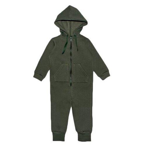 Комбинезон Веселый Малыш 351/140 размер 116, зеленый